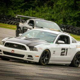 Chicane23 Heat Extracting Hood Mustang 2013 2014 Clear