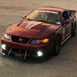 Tiger Racing Hood Mustang 1999-2004
