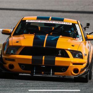 Tiger Racing Hood 2005-2009 Ford Mustang