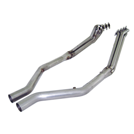 """Stainless Works Headers 1 5/8"""" Off-Road X-Pipe Mustang 2005-2010"""