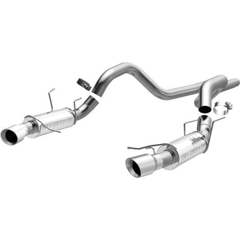 MagnaFlow Competition Catback Exhaust Mustang GT 2011-2012