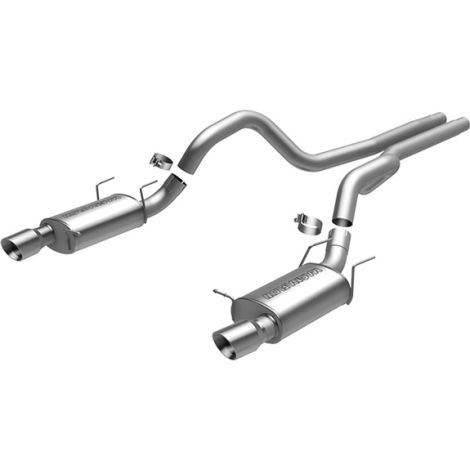 MagnaFlow Stainless Series Catback Exhaust Mustang GT 2013-2014