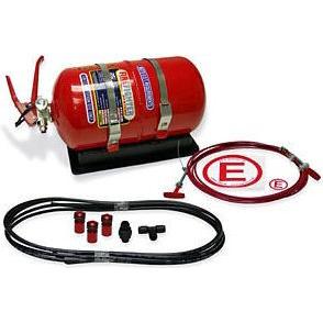 SPA Mechanical 4 Liter Multi-Flo AFFF Alloy Bottle System