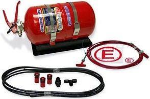 SPA Mechanical 3.375 Liter Multi-Flo AFFF Alloy Bottle System