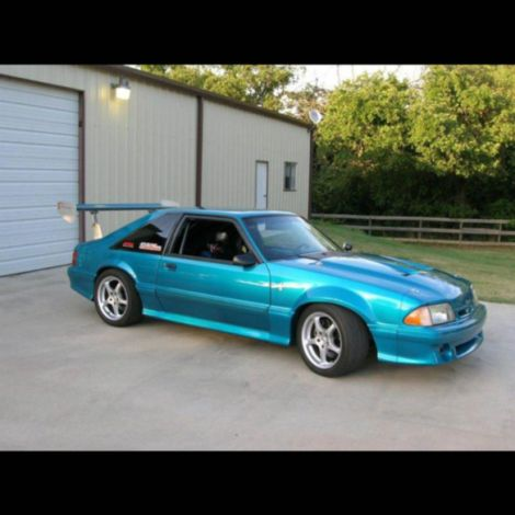 Chicane23 Mustang Fenders With 2 Inch Flare 1979-1993