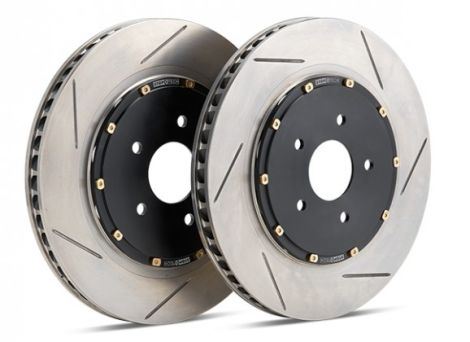Stoptech 2-piece Slotted Front Rotors