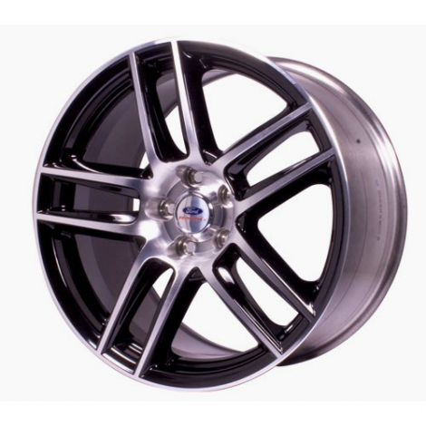 BOSS 302S Front Wheel, Black With Machined Face