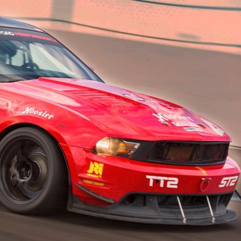 Chicane23 Heat Extracting Hood Mustang 2010-2012
