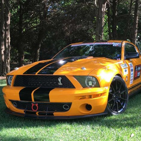 Tiger Racing Hood 2005-2009 Ford Mustang