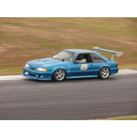 Front Fiberglass Fenders + Rear Carbon Fiber Flares 1979-1993 Mustang