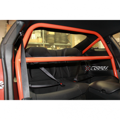 CorteX Racing Bolt-In Roll Cage, 4-point, Mustang S550 2015