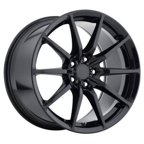 MRR M350 GT350 Style Wheels - Gloss Black