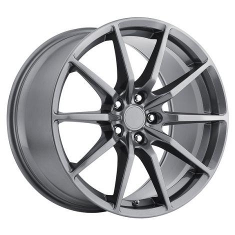 MRR M350 GT350 Style Wheels - Gunmetal