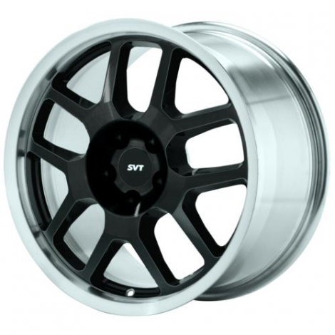 Black SVT Wheel, Machined Lip, Mustang 2007