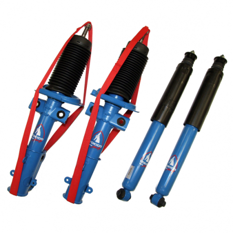 Tokico HP Blue Series Shocks and Struts (Front+Rear Set) Mustang 2005-2010