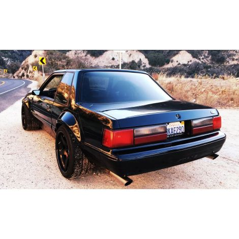 Chicane23 Mustang Fox Body Fender Flares Complete Set 1979-1993