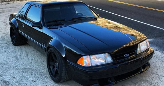Tiger Racing Mustang Fox Body Fender Flares Complete Set 1979 1993