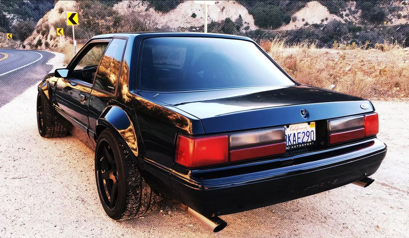 Fox Body Mustang >> Chicane23 Mustang Fox Body Fender Flares Complete Set 1979 1993