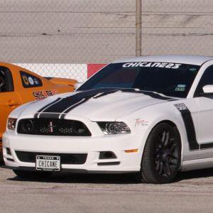 Tiger Racing Hood Mustang 2013-2014